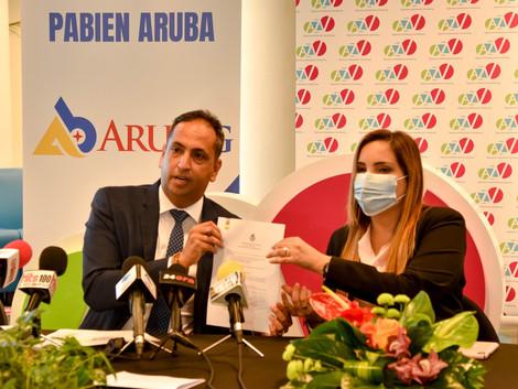 Danki na AruBIG e promer dokter di cas ta sera contrato cu AZV