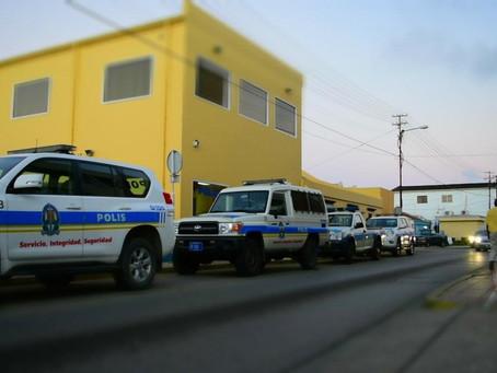Polis: Lo kita tur borchi sin permiso for di caminda publico