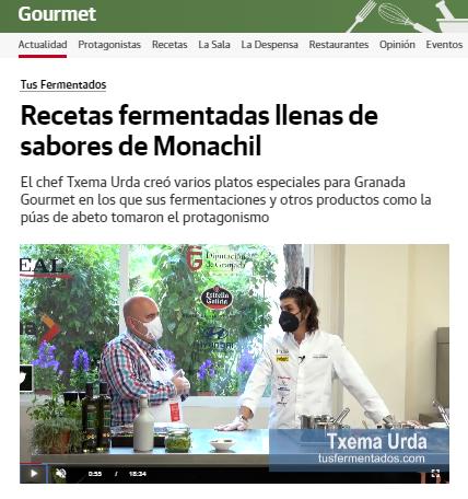 Prensa Txema Urda - Granada Gourmet 2021