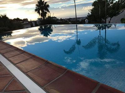 NLP practitioner retreat pool view