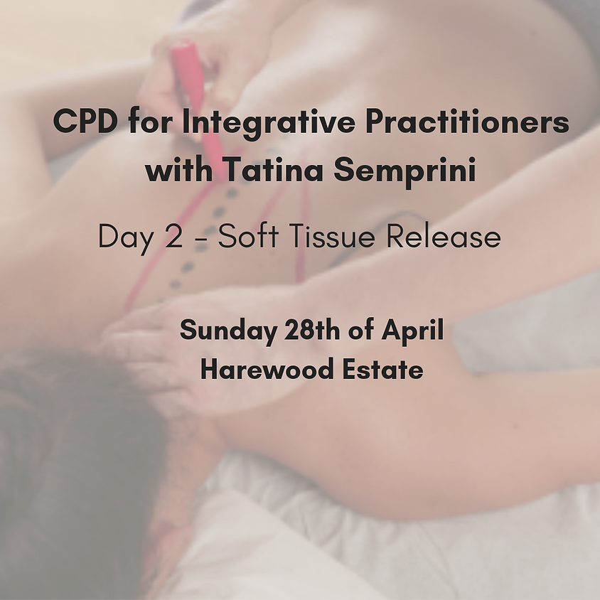 CPD for Integrative Practitioners with Tatina Semprini