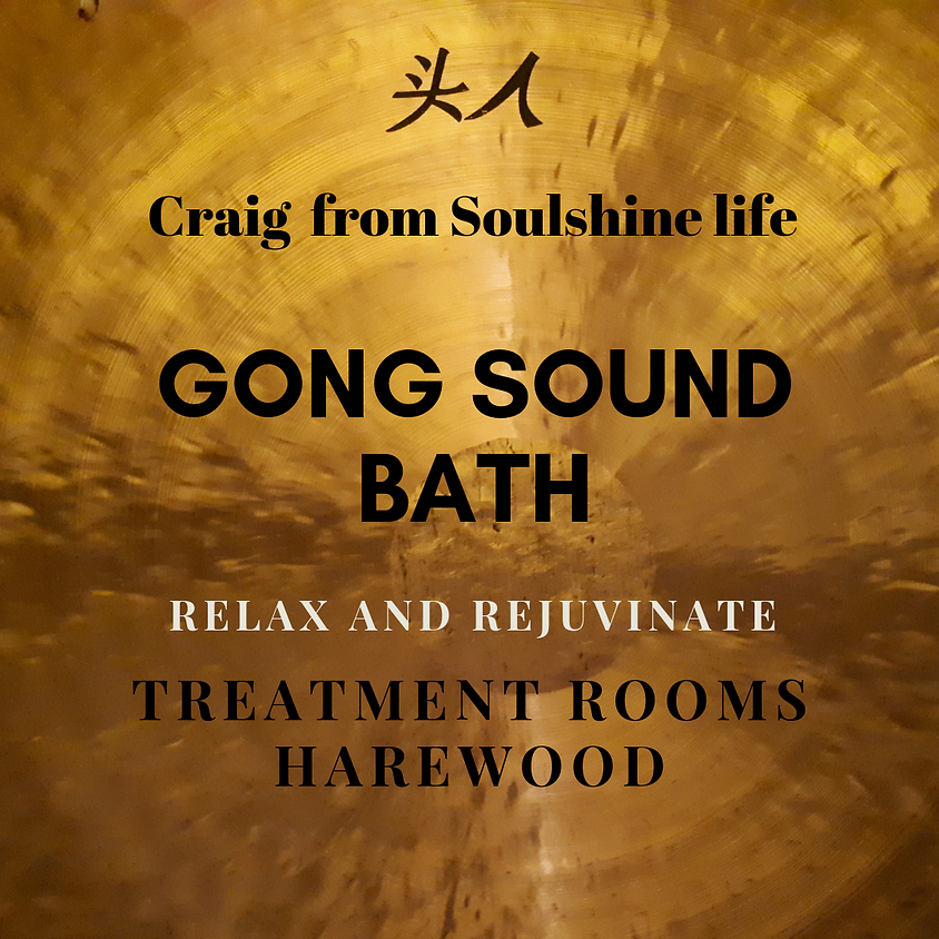 Gong Relaxation Sound Bath
