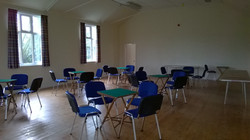 Main Hall Set for Whist Drive Night