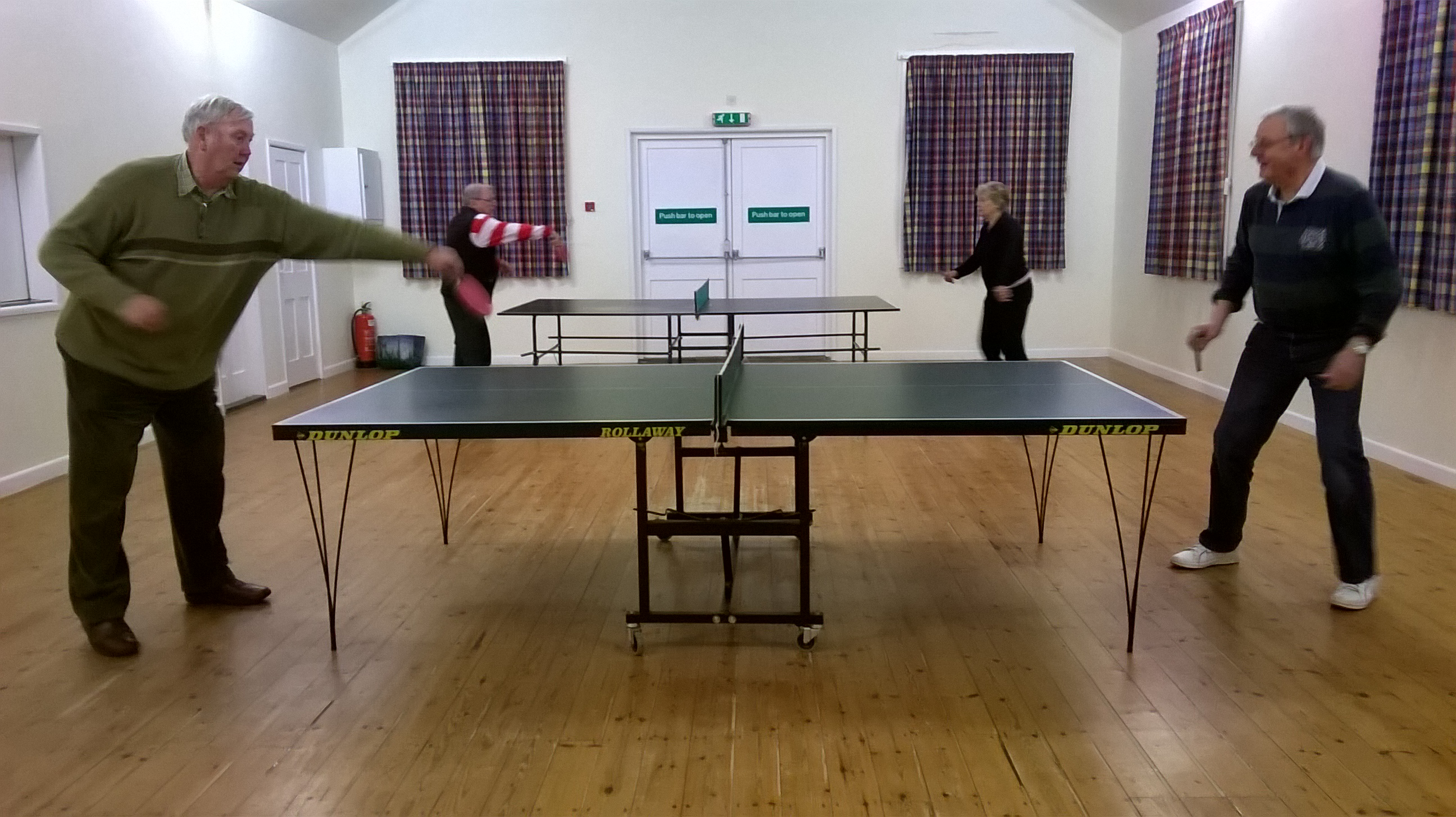 Table Tennis Evening