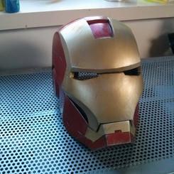 Animatronic Iron man helmet