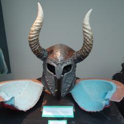 skyrim helmet replica