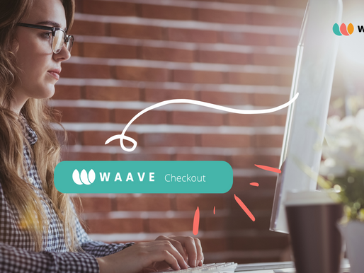 WAAVE Checkout: the new HIGH-light in your online shopping experience.