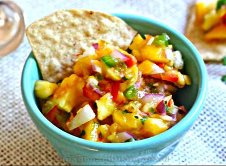 Mad Beach Fish House - Mango Pineapple Salsa Recipe