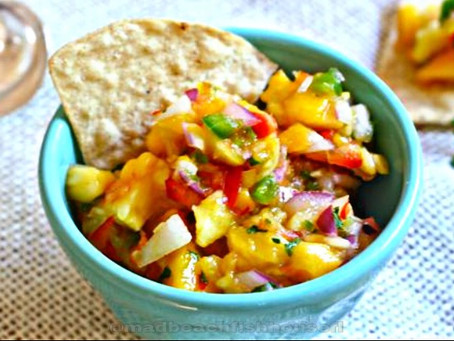 Mad Beach Fish House - Mango Pineapple Salsa Recipe