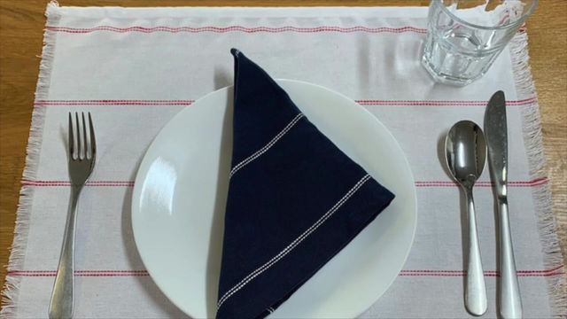 How to Make a Placemat from Moda Toweling