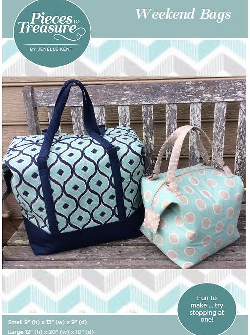 Downloadable Pattern - Weekend Bags