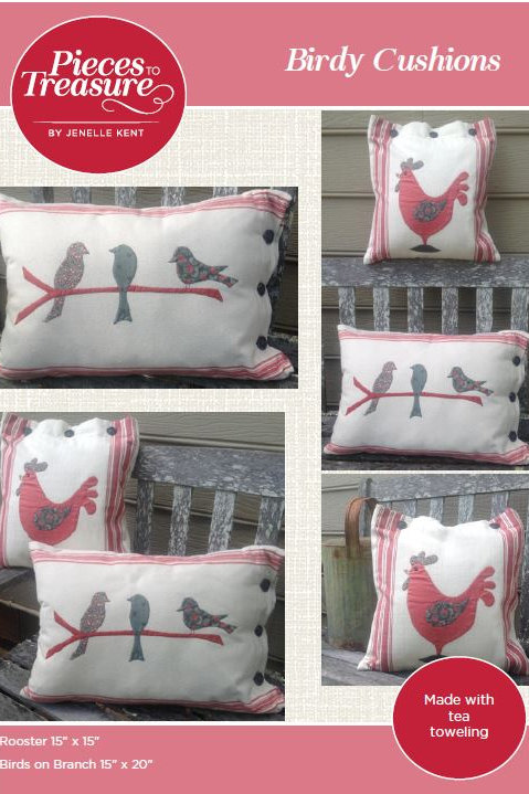 Pattern - Birdy Cushions PAPER