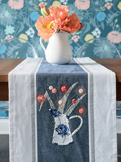 Field Flowers Table Runner - Fabric Pack