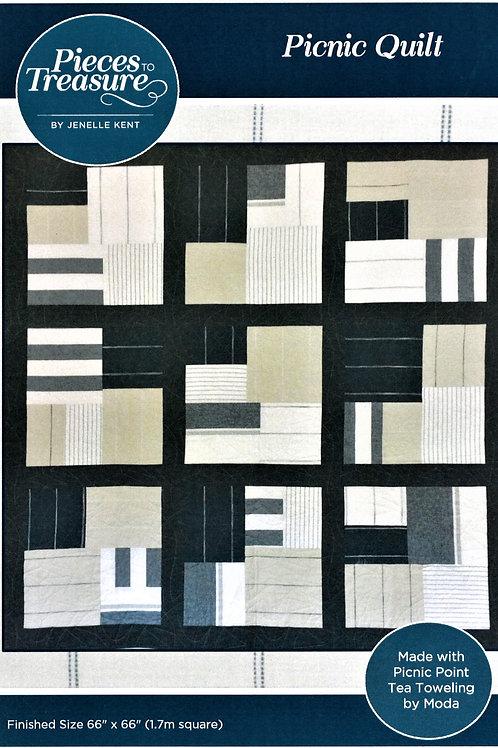 Downloadable Pattern - Picnic Quilt