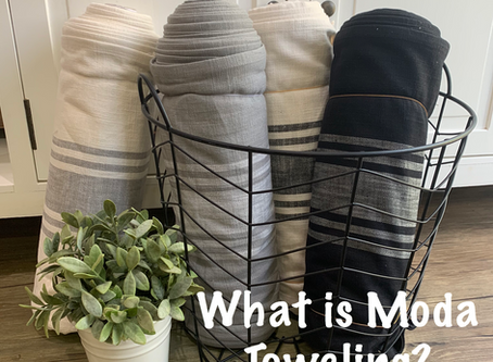 What is Moda Toweling