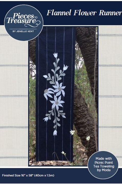 Pattern - Flannel Flower Runner