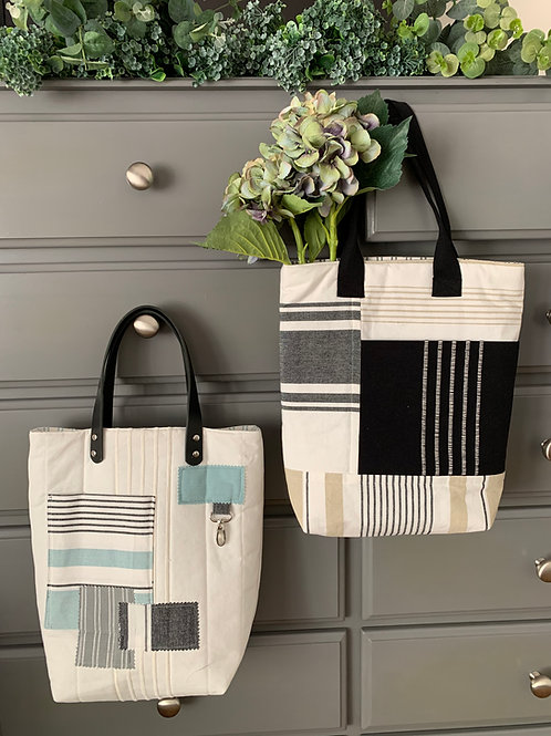 Downloadable Pattern Lagoon Totes