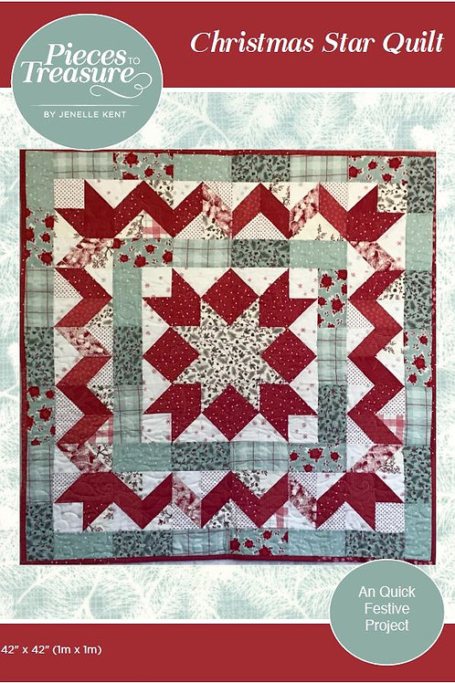 Pattern - Christmas Star Quilt