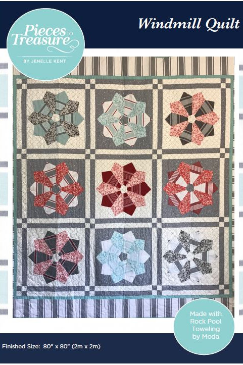 Downloadable Pattern - Windmill Quilt