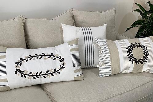 Downloadable Pattern Sand Drift Pillows