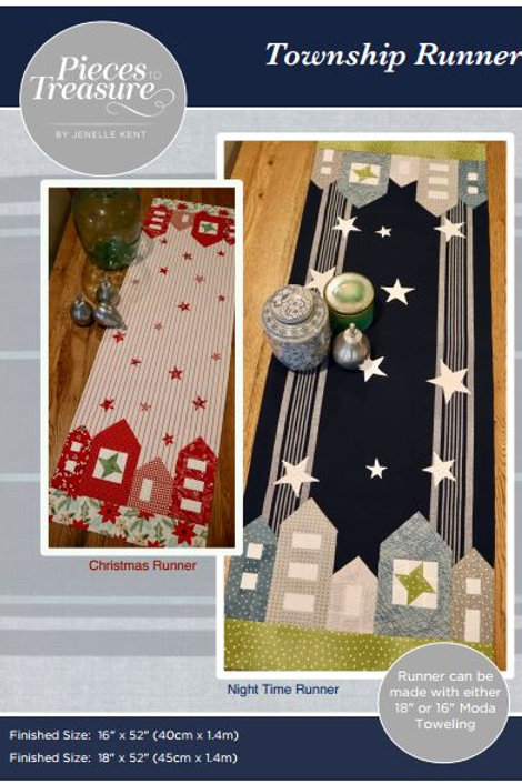 Downloadable Pattern - Township Runner