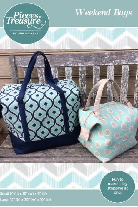 Pattern - Weekend Bags PAPER