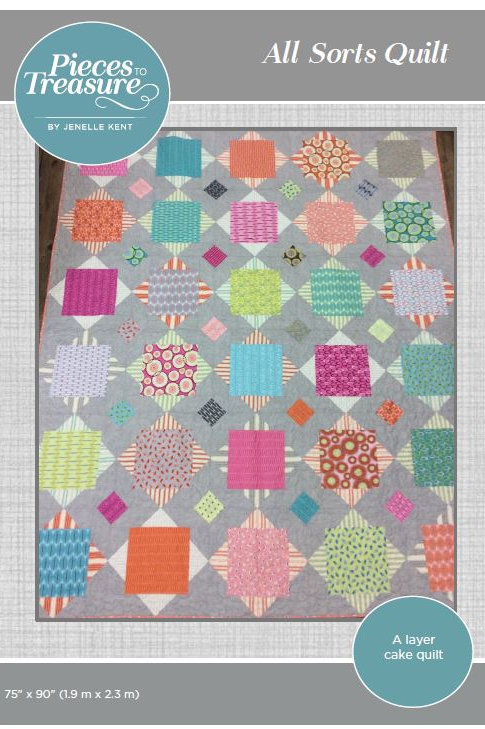 Downloadable Pattern - All Sorts Quilt