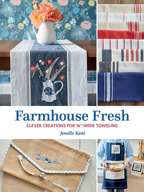 Book - Farmhouse Fresh by Jenelle Kent