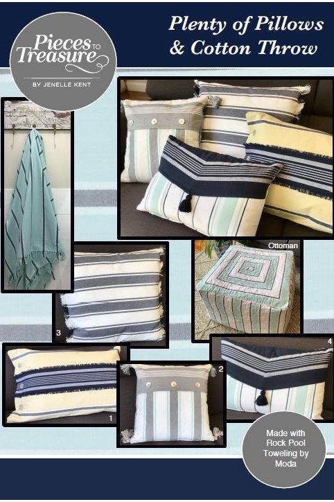Pattern - Plenty of Pillows & Cotton Throw