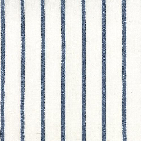 Linen Closet Toweling 920-227 White Blue