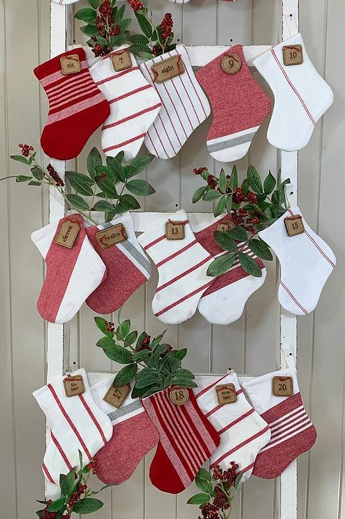 Pattern- Mini Christmas Stockings