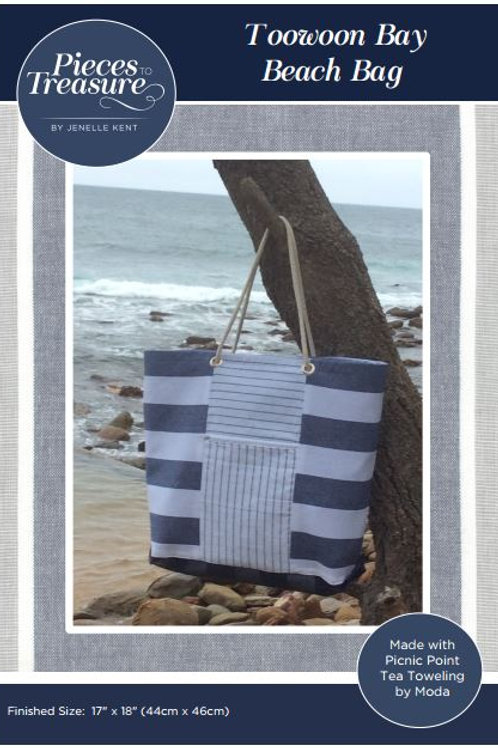 Downloadable Pattern - Toowoon Bay Beach Bag