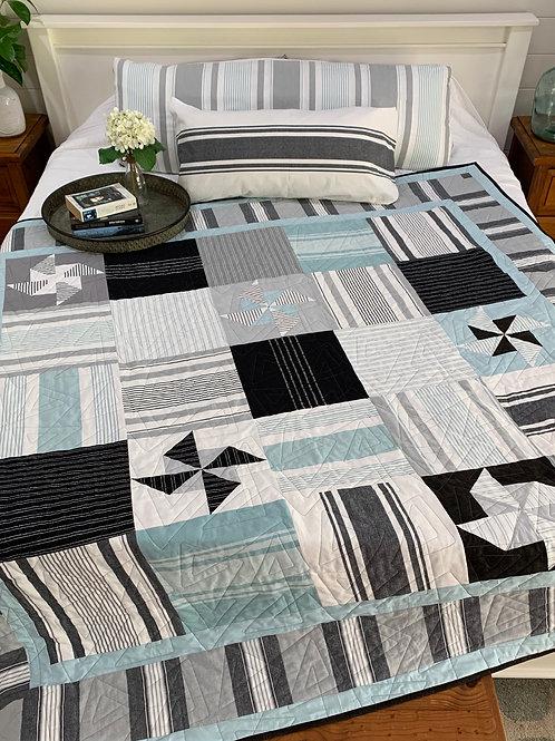 Downloadable Pattern SeaSalt Quilt