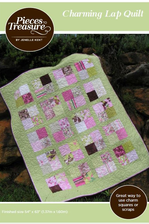 Downloadable Pattern - Charming Lap Quilt
