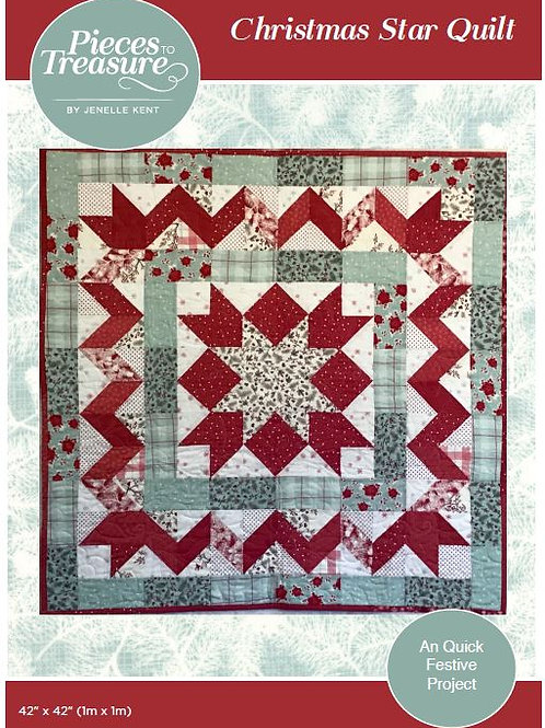 Downloadable Pattern - Star Quilt