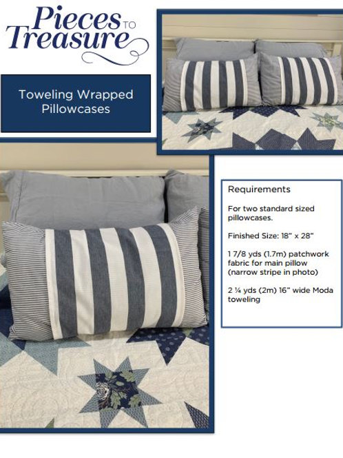 Downloadable Pattern - Toweling Wrapped Pillowcases