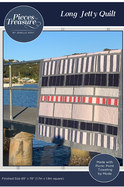 Downloadable Pattern - Long Jetty Quilt