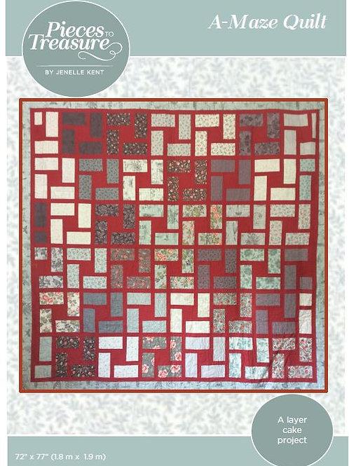 Downloadable Pattern - A-Maze Quilt
