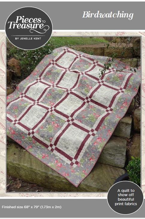 Downloadable Pattern - Birdwatching Quilt