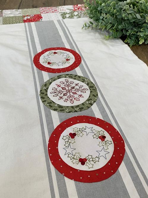 Pattern- Christmas Stitchery Runner