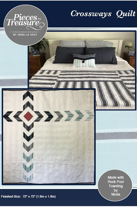 Downloadable Pattern - Crossways Quilt