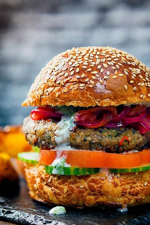 Bombay Beef Burger (Friday)