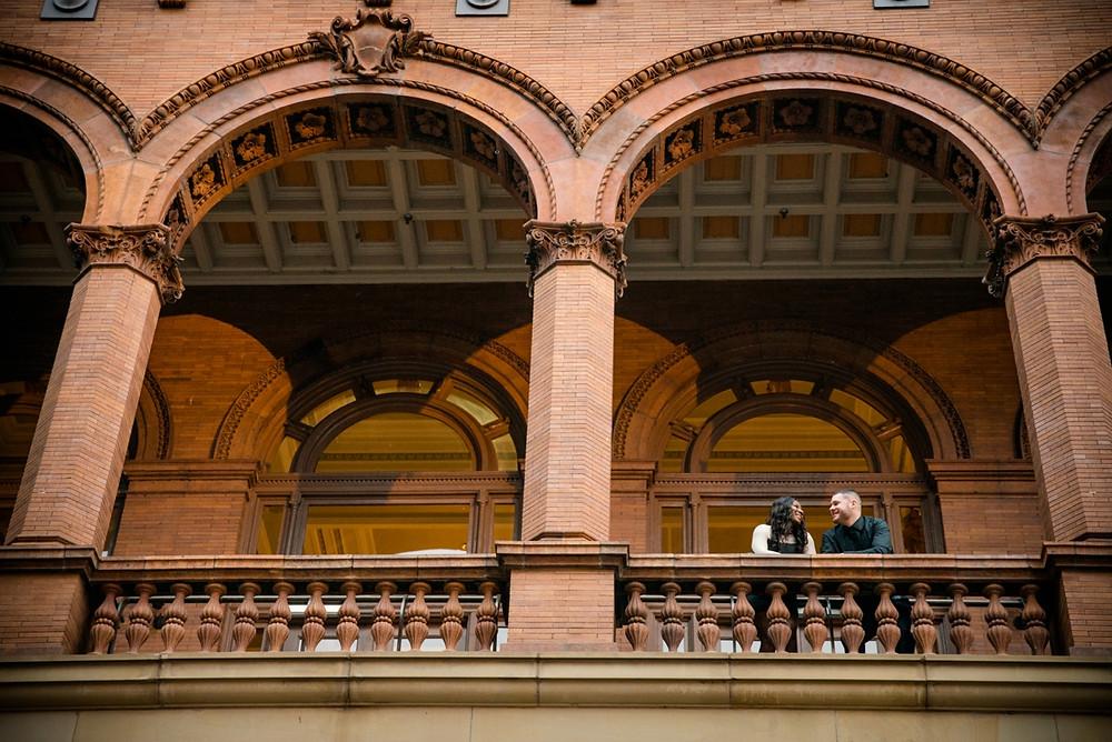 Main Street Station Richmond VA engagement photography