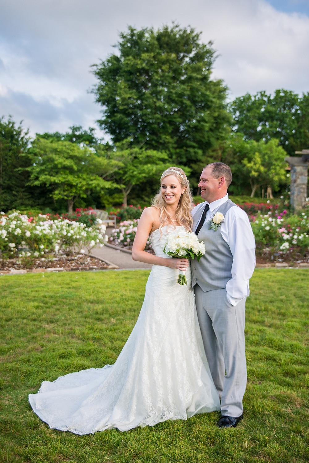 Lewis Ginter Botanical Garden Richmond VA engagement photography
