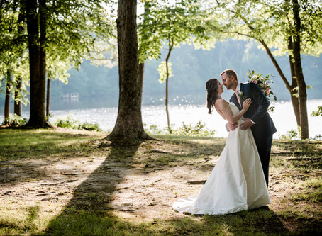 Sarah & Brian's Fairytale Rustic Backyard Wedding - Suffolk, VA