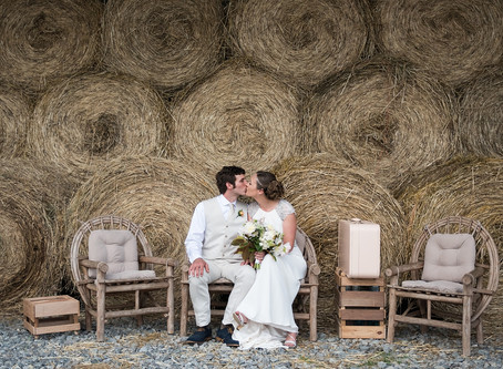Sarah & Thomas's Bohemian Barn Wedding - Rappahannock, Virginia