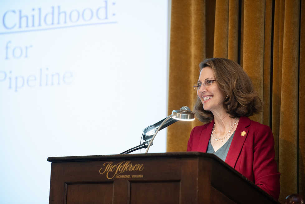 Early Childhood Foundatioin Luncheon - First Lady Northam