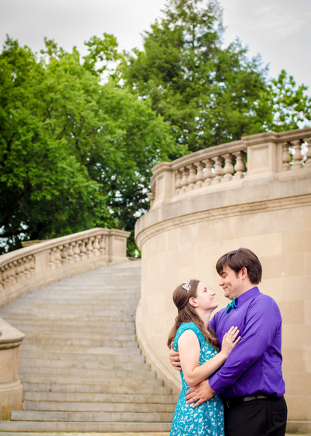 Byrd Park and the Carillon Richmond VA engagement photography