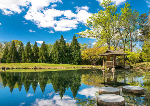 Maymont Park Japanese Garden Richmond Virginia