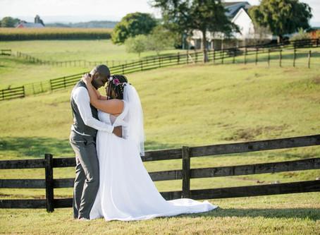 Maria & Falin's Rustic-Elegant Farm Wedding - Hermitage Hill Farm - Waynesboro, VA